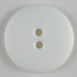 Modeknopf - WEISS - Größe: 23mm