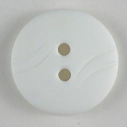 Modeknopf - WEISS - Größe: 13mm