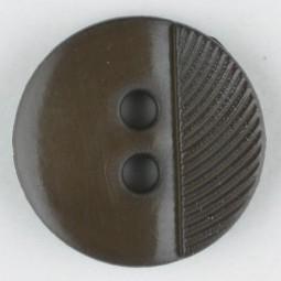 Modeknopf - BRAUN - Größe: 13mm