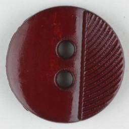 Modeknopf - ROT - Größe: 13mm