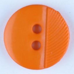 Modeknopf - ORANGE - Größe: 13mm