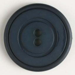 Modeknopf - MARINEBLAU - Größe: 34mm