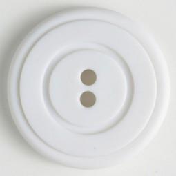 Modeknopf - WEISS - Größe: 34mm