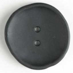Modeknopf - SCHWARZ - Größe: 38mm