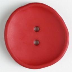 Modeknopf - ROT - Größe: 38mm