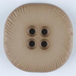 Modeknopf - BEIGE - Größe: 32mm