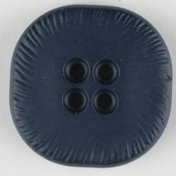 Modeknopf - BLAU - Größe: 32mm