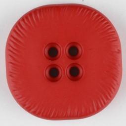 Modeknopf - ROT - Größe: 32mm