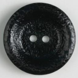 Modeknopf - SCHWARZ - Größe: 34mm