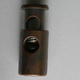 Kordelstopper - KUPFER - Größe: 28mm