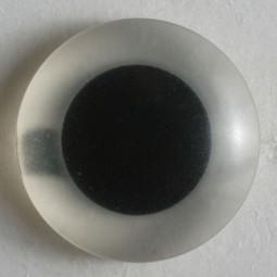 Kinderknopf Auge - TRANSPARENT - Größe: 15mm