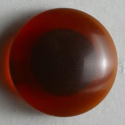Kinderknopf Auge - BRAUN - Größe: 12mm