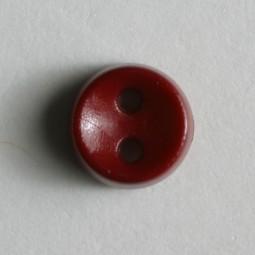 Kinderknopf - WEINROT - Größe: 7mm