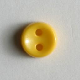 Kinderknopf - GELB - Größe: 7mm