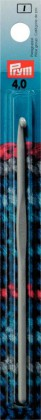 WOLLHÄKELNADEL Aluminium mit Führung Maß: 4mm/14cm