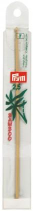 WOLLHÄKELNADEL Bambus Maß: 2,5mm/15cm
