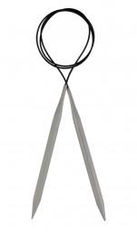 basix Aluminium Rundstricknadel Maß: 3,5mm/120cm