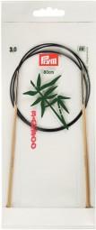 RUNDSTRICKNADEL Bambus Maß: 3mm/80cm