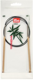 RUNDSTRICKNADEL Bambus Maß: 4mm/80cm