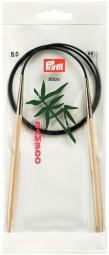 RUNDSTRICKNADEL Bambus Maß: 5mm/80cm