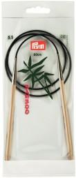 RUNDSTRICKNADEL Bambus Maß: 5,5mm/80cm