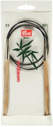 RUNDSTRICKNADEL Bambus Maß: 7mm/80cm