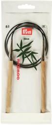 RUNDSTRICKNADEL Bambus Maß: 8mm/80cm