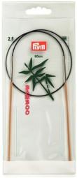 RUNDSTRICKNADEL Bambus Maß: 2,5mm/60cm