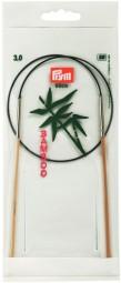RUNDSTRICKNADEL Bambus Maß: 3mm/60cm