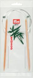 RUNDSTRICKNADEL Bambus Maß: 3,5mm/60cm