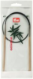 RUNDSTRICKNADEL Bambus Maß: 4,5mm/60cm