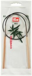 RUNDSTRICKNADEL Bambus Maß: 5mm/60cm