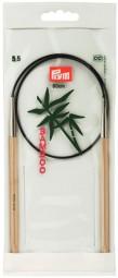 RUNDSTRICKNADEL Bambus Maß: 5,5mm/60cm