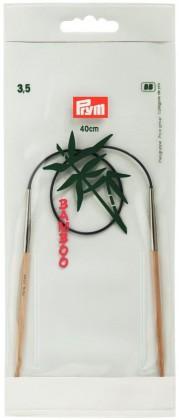 RUNDSTRICKNADEL Bambus Maß: 3,5mm/40cm