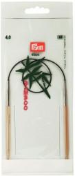 RUNDSTRICKNADEL Bambus Maß: 4mm/40cm