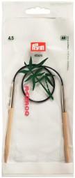 RUNDSTRICKNADEL Bambus Maß: 4,5mm/40cm