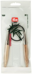 RUNDSTRICKNADEL Bambus Maß: 10mm/40cm