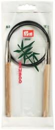 RUNDSTRICKNADEL Bambus Maß: 9mm/80cm