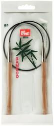 RUNDSTRICKNADEL Bambus Maß: 8mm/60cm