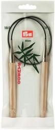 RUNDSTRICKNADEL Bambus Maß: 10mm/60cm