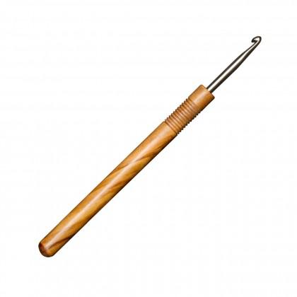 OLIVENHOLZ-HÄKELNADEL Maß: 3mm/15cm