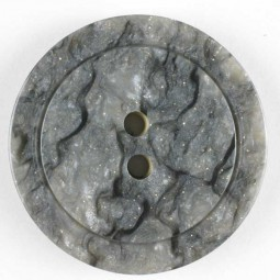 Modeknopf - GRAU - Größe: 25mm