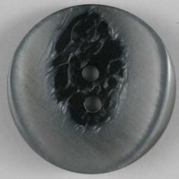 Modeknopf - GRAU - Größe: 34mm