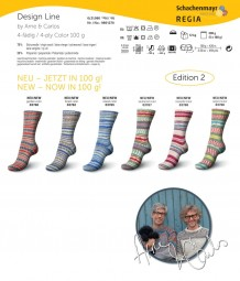 DESIGN LINE BY ARNE & CARLOS Edition 2 - SELJORD COLOR (03766)