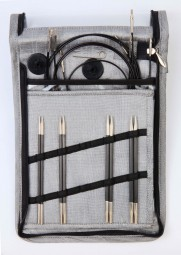 KARBONZ STARTER Austauschbare Rundstricknadeln Maß: 3-4,5mm/60-100cm Set