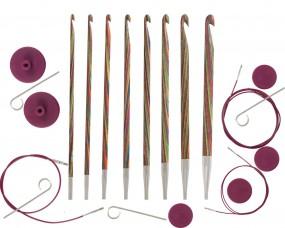 SYMFONIE Austauschbare Häkelnadel (tunesisch) Stärke: 3,5-8mm Set