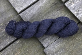 BLUE FACED BLEND DK SUPERWASH - BLACK (01)