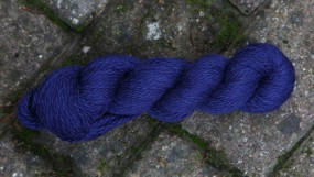 BLUE FACED BLEND DK SUPERWASH - INDIGO (12)