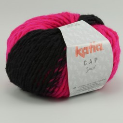 CAP JUNIOR - NEGRO/ FUCSIA (64)