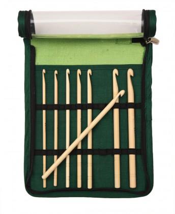 bamboo Häkelnadel (einfach) Stärke: 3,5-8mm Set